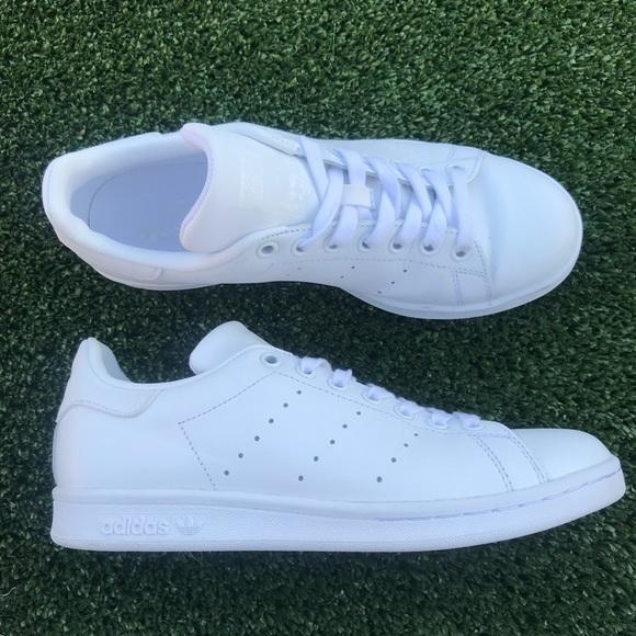 le adidas stan smith tutte scarpe bianche bianche scarpe poshmark 664f81